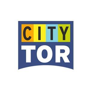 Logo Corporate Design City Tor