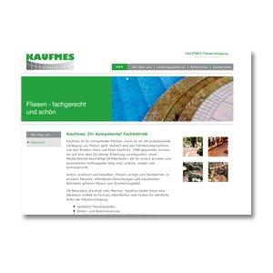 Homepage Gestaltung Kaufmes
