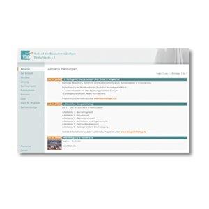 Homepage Internetseite