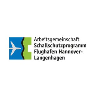 Logo Arbeitsgemeinschaft Schallschutzprogramm Flughafen Hannover-Langenhagen