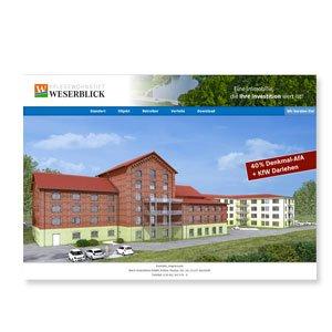 Seniorenresidenz Weserblick Website