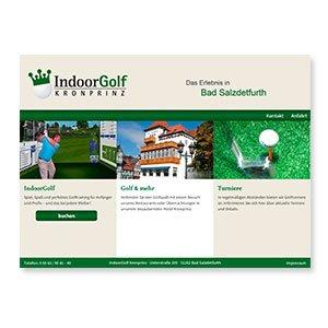 Homepage IndoorGolf