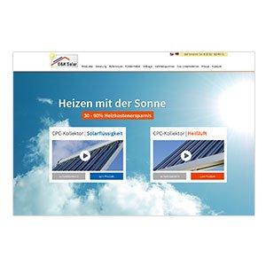 dk-solar Internetseite