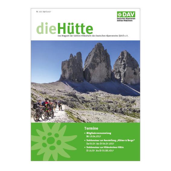 Hütte Broschüre 2017 Agentur Hildesheim