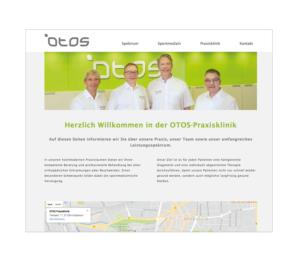 OTOS Internetseite Responsive