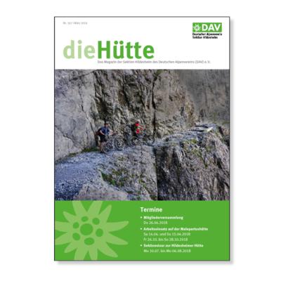 die Hütte 2018 Broschüre Agentur Hildesheim
