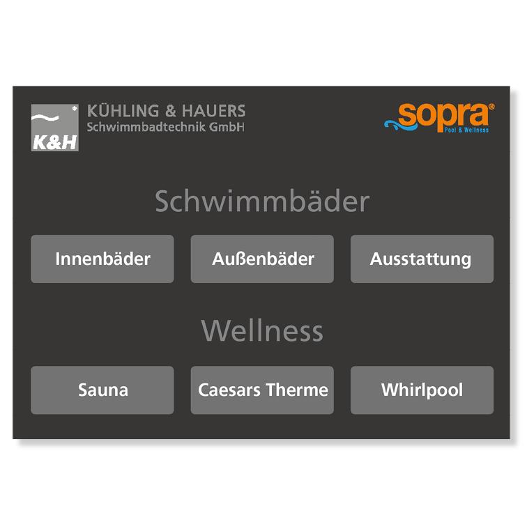 sopra iPad Präsentation Agentur Hildesheim