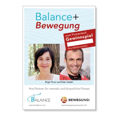 B-B Plakat Gewinnspiel Agentur Hildesheim