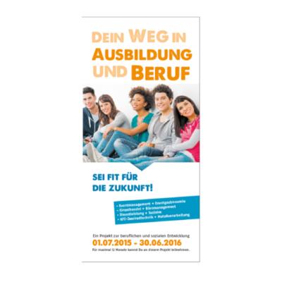 DeinWeg Flyer Agentur Hildesheim