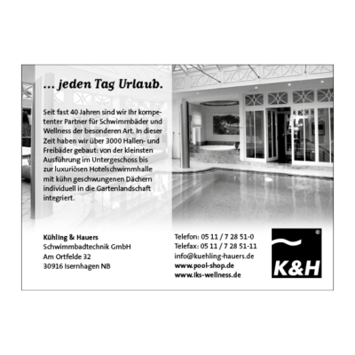 Anzeige Kühling-Hauers Agentur Hildesheim