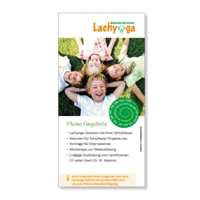 Remmers Lachyoga Flyer Agentur Hildesheim