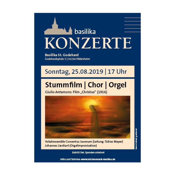 Basilika Plakat 2019 Agentur Hildesheim