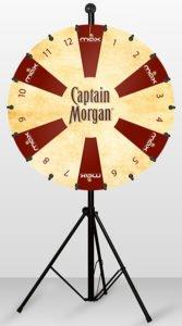 Captain Morgan Glücksrad Agentur Hildesheim