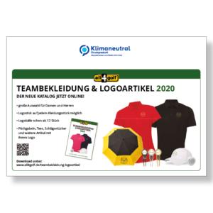 Mailing Umschlag all4golf 2020