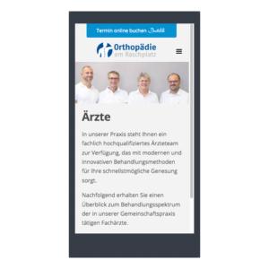 Responsive Orthopädie am Raschplatz