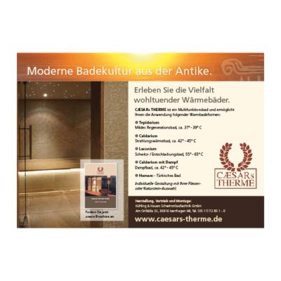 Caesars Therme Anzeige Agentur Hildesheim