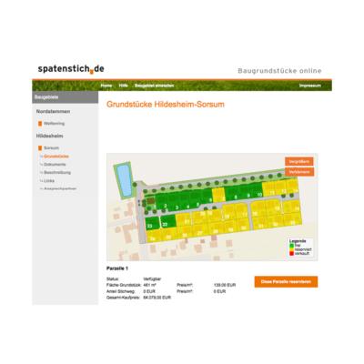 Spatenstich Lageplan Agentur Hildesheim