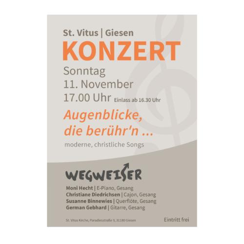 Wegweiser Plakat Agentur Hildesheim
