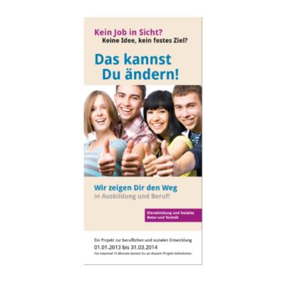 Ausbildung-Beruf Flyer Agentur Hildesheim