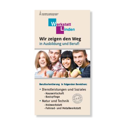 Werkstattt Linden Flyer Agentur Hildesheim